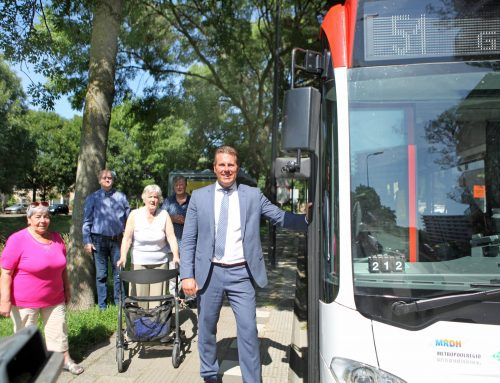 Muziekbuurt heeft weer een bus