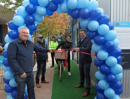 Opening bewaakte fietsenstalling station Rijswijk