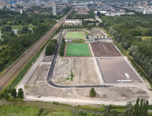 Sportpark Elsenburg krijgt vorm